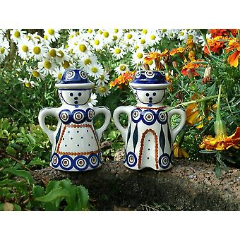 Salt + pepper shakers couples, 13.5 cm high, tradition 10, BSN m-3439