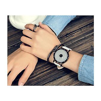 Intelligente Sparkle Glitter Watch weiß glänzend