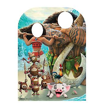 Moana Child Size Stand -in Official Disney Cardboard Cutout / Standee