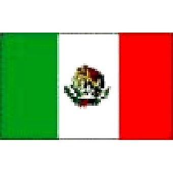 Mexico Flag 5ft x 3ft With Eyelets For Hanging