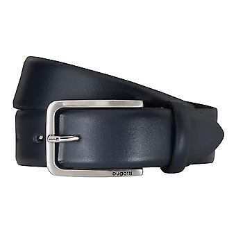 Bugatti bälten läder kuter mäns bälten läder bälte blå 5151