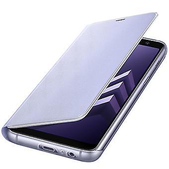 Samsung neon läppä kattaa EF FA530PVEGWW Galaxy A8 2018 A530F kattaa Orchid harmaa / violetti
