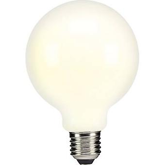 Sygonix LED (monochrome) EEC A++ (A++ - E) E27 Globe 6 W = 60 W Warm white (Ø x L) 95 mm x 134 mm Filament 1 pc(s)