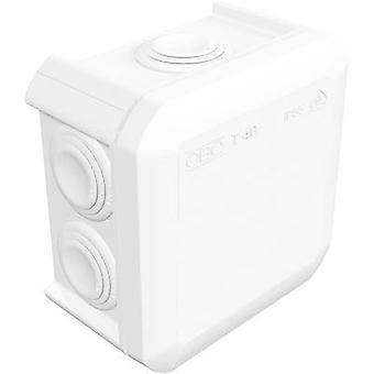 OBO Bettermann 2007517K Junction box (L x W x H) 90 x 90 x 52 mm Pure white (RAL 9010) IP55 1 pc(s)