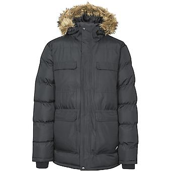 Overtreding Mens Baldwin warme gewatteerde capuchon waterdicht Insulated Jacket