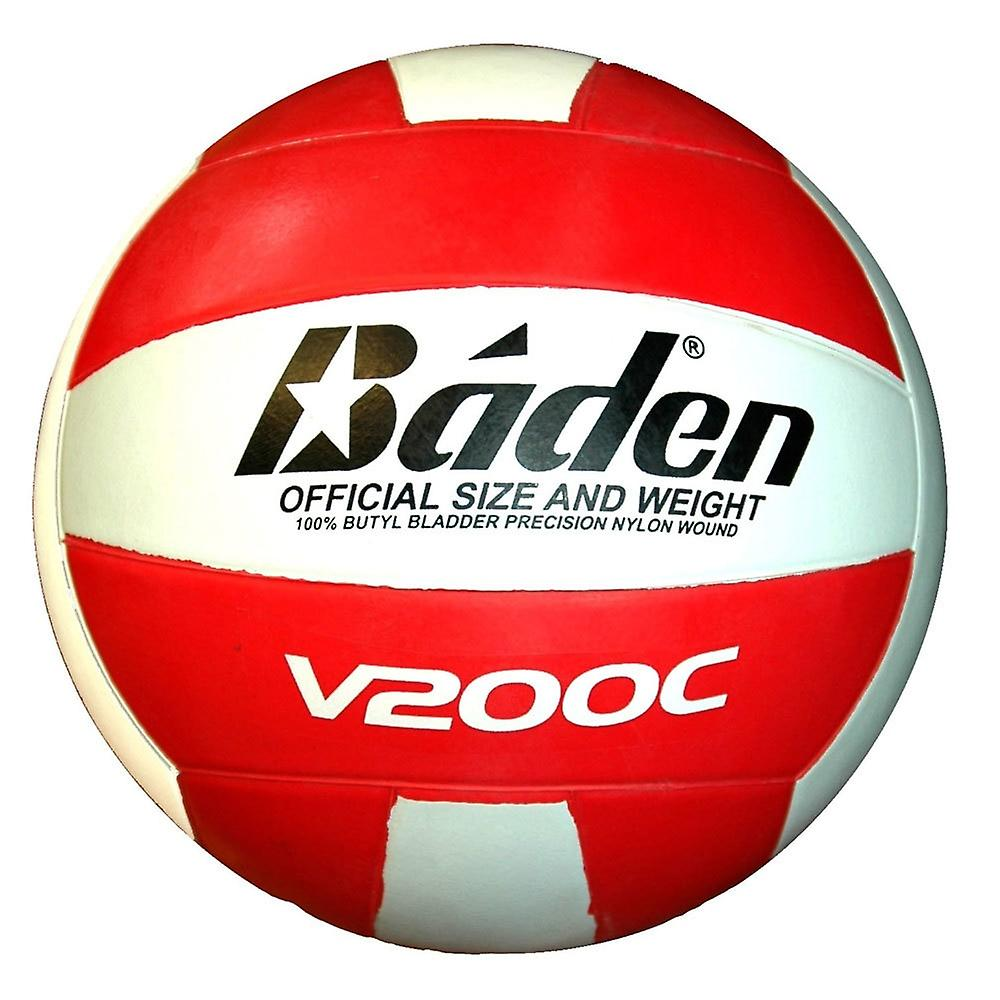 BADEN v200c club volleyball [red/white]
