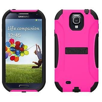 Trident - Aegis Case voor Samsung Galaxy S4 - zwart/roze