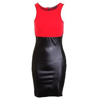 Naisten Celeb laihtumiseen vaikutus illuusio Wetlook kontrasti Bodycon hyvät mekko