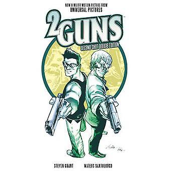2 kanoner - andra skottet (De Luxe edition) av Steven Grant - Mateus Santol