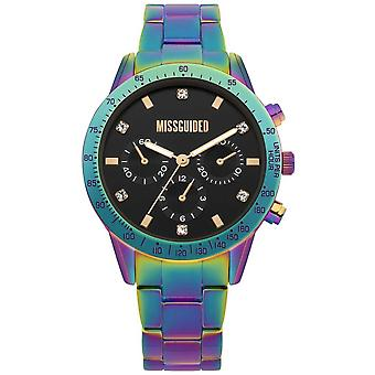 Missguided | Ladies | Multicolour Stainless Steel | MG004UPM Watch