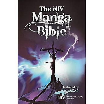 NIV Manga Bibeln: NIV Bibeln med 64 sidor av Bibeln berättelser återberättas manga-stil (New International Version)