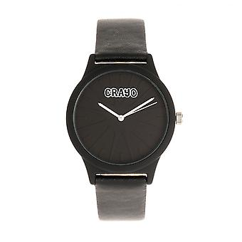 Crayo Splat Unisex Watch - Noir
