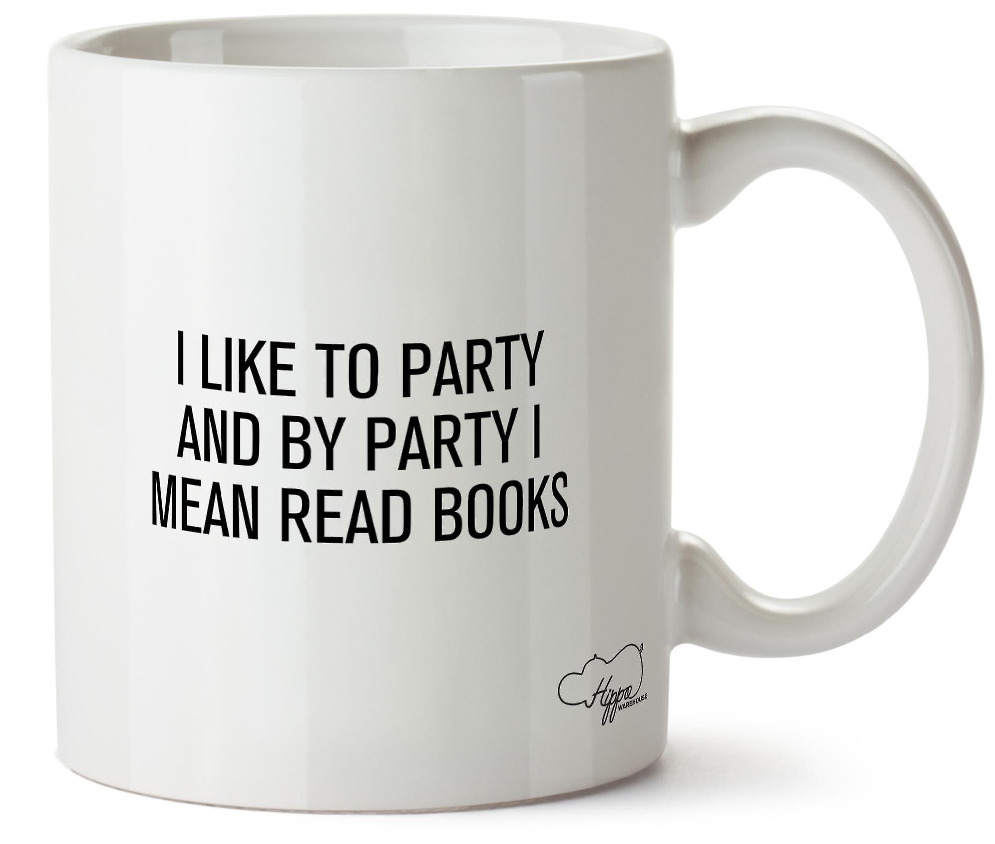 Hippowarehouse мне нравится стороной и стороной я имею в виду книги 10 oz кружка Кубок