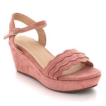 Aarz London Valerie- Summer Wedge Sandal