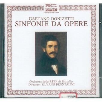 Gaetano Donizetti - Donizetti: Sinfonie Da Opere [CD] USA import
