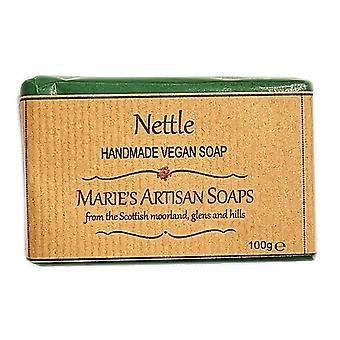 Marie's Artisan tvålar handgjorda veganska tvål 100g - nässlor