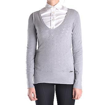 Blugirl Folies Ezbc208012 Femmes-apos;s Grey Viscose Sweater