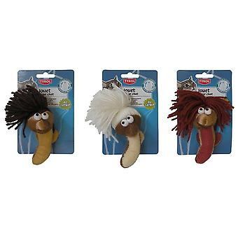 Agrobiothers Plush Toy Woollen Worm (Cats , Toys , Plush & Feather Toys)