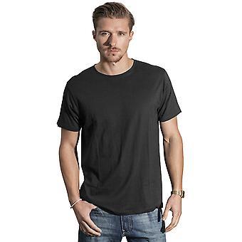 Cotton Addict Mens Light Round-Neck Short Sleeve T Shirt