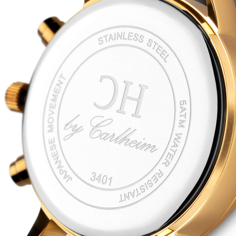 Carlheim | Armbandsur | Chronograph | Ertholmene | Skandinavisk design