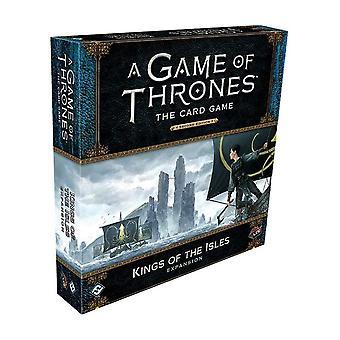 Spel der tronen LCG 2e editie Deluxe expansie Kings of the Isles kaartspel
