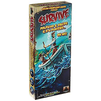 Survive Dolphins Squids and 5-6 Player Exp Board Game