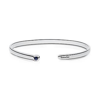 Tampa Bay Stråler indgraveret Sterling Silver Sapphire Cuff armbånd