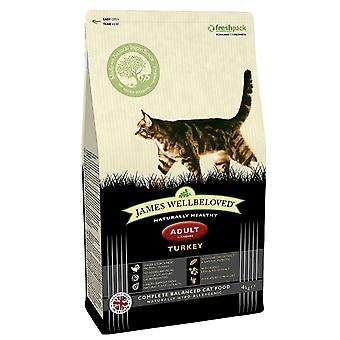 James Wellbeloved Adult Cat Turchia cibo secco - 1,5 kg