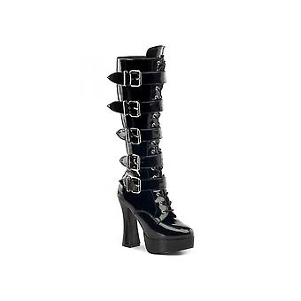 Pleaser Shoes Electra 2042 Patent Boot