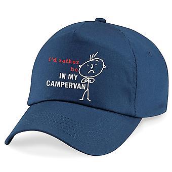 Men's I'd Rather Be In My Campervan Cap