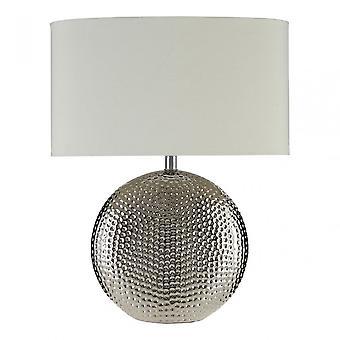 Premier Home Joshua Table Lamp, Silver
