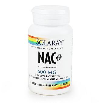 Solaray NAC + 600mg tabletit 30 (1294)