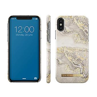 iDeal Of Sweden iPhone X/XS-Sparkle Greige Marble