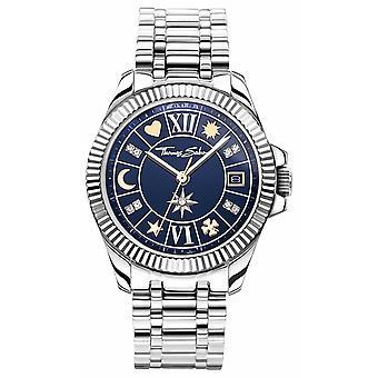 Thomas Sabo | Women's Lucky Charm | Blue Dial | Stainless Steel Bracelet WA0354-201-209-33