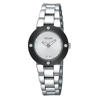 Pulsar athens Quartz Analog Woman Watch with STAINLEss Steel Bracelet PTA405X1