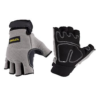 Stanley Unisex Fingerless Performance Glove Gray/Black/Yellow
