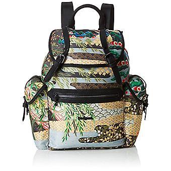 Desigual Bols_explorer Victoria-sacos de mochila das mulheres verdes (musgo) 13x35x21 cm (B x H T)