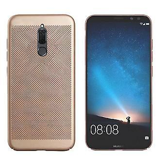 Kotelo Mesh reikiä Huawei Mate 10 Lite Gold