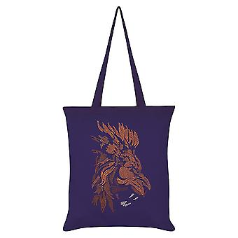Grindstore Unorthodox Collective Vector Lion Tote Bag