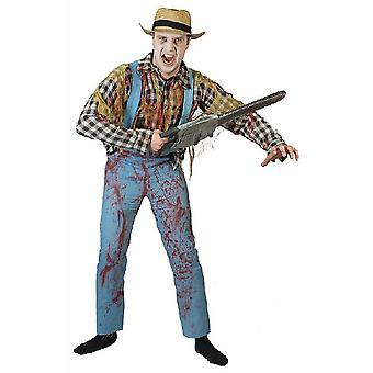 Zombie Gärtner  Herrenkostüm Bauer Landarbeiter Herren Kostüm