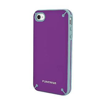 PureGear Snap-on Slim Shell Carrying Case para Apple iPhone 4 / 4S - Passion Fruit