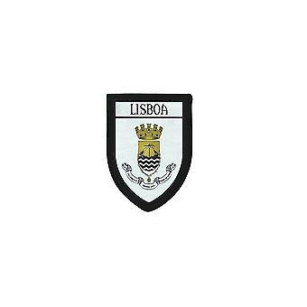 Usg Brode Thermocollant Drukuje Blason City Portugalia Lisboa Lizbona Patch