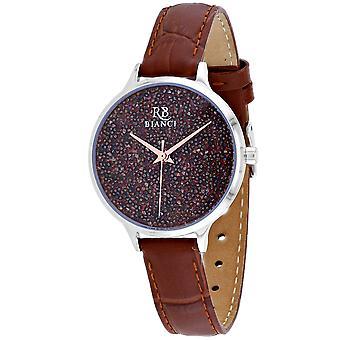 Roberto Bianci Femmes apos;s Gemma Brown Dial Watch - RB0240