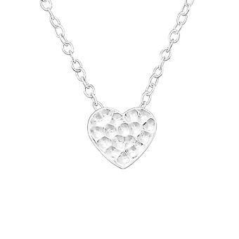 Heart - 925 Sterling Silver Plain Necklaces - W19950x