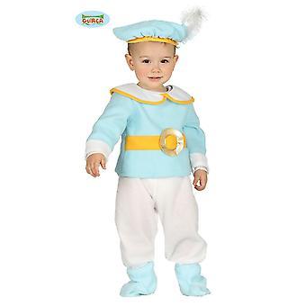 Poco traje de bebé de príncipe