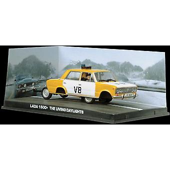 Lada 1500 Police Diecast Model Car from James Bond The Living Daylights