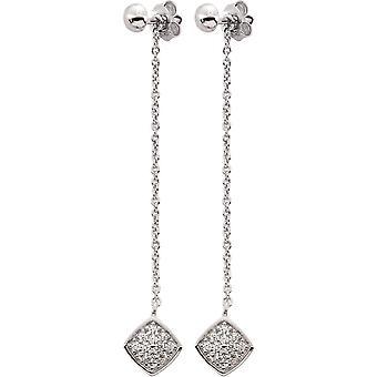 Ella zilveren oorbellen