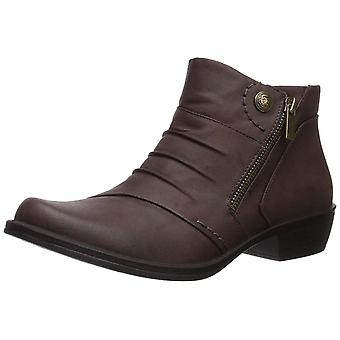 Easy Street Womens Sable Closed Toe Ankle Chelsea Boots