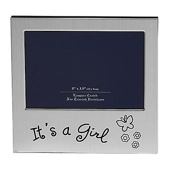 Shudehill Giftware Its A Girl 5 X 3.5 Photo Frame