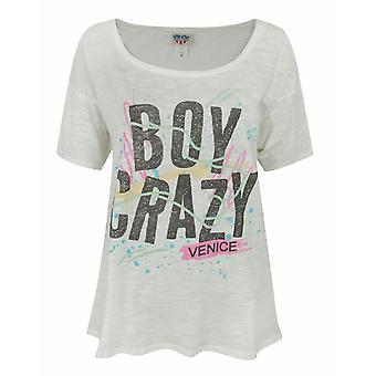 Junk Food Boy Crazy Women's T-Shirt